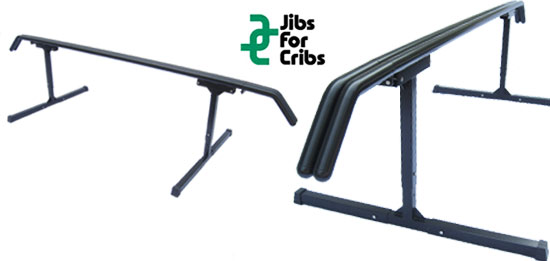 Jibs for Cribs Rail Starter System